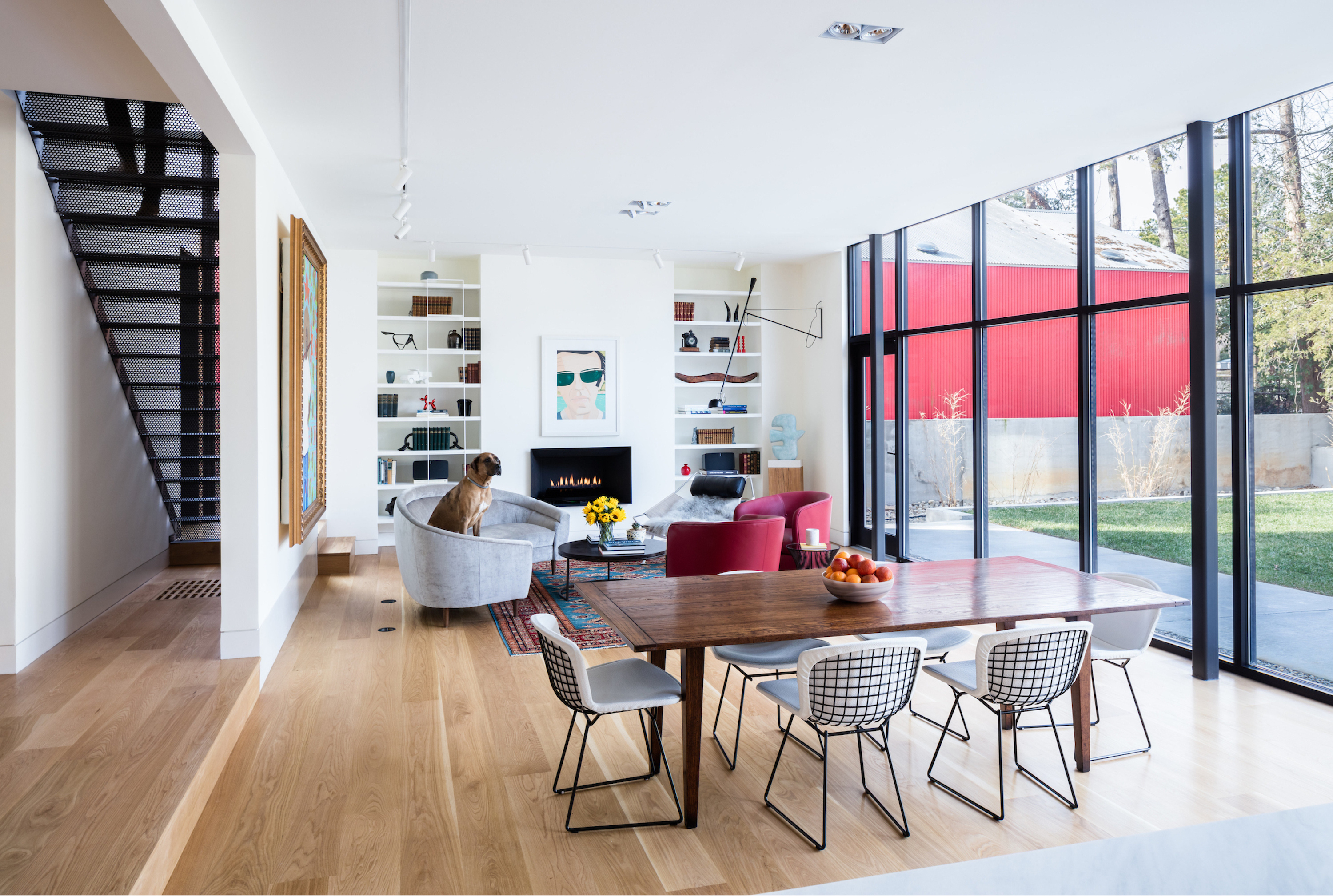 Tonic Design modern addition to historic house
